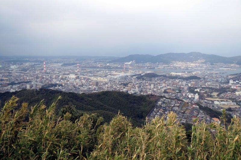 花尾城/⑨本丸から北東側