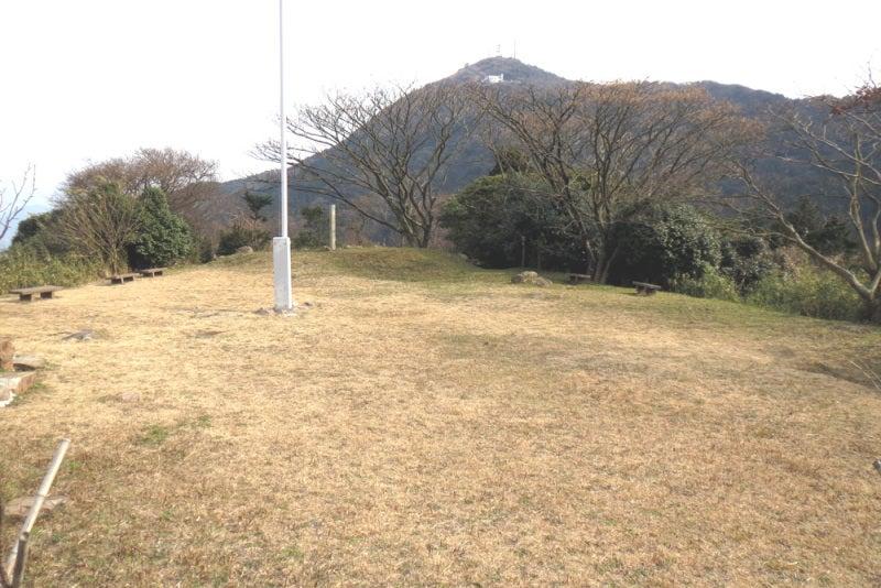 花尾城/⑩本丸から皿倉山