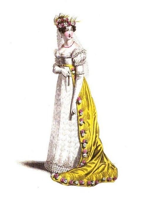 19世紀初頭の西洋のファッションの変遷