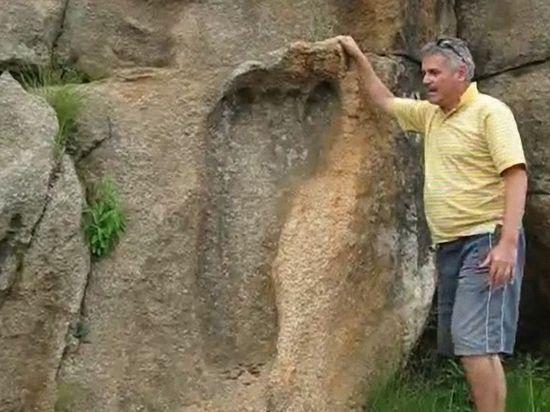 スワジランドの巨人の足跡