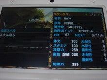 MH4 ナルガ5倍装備 防御力