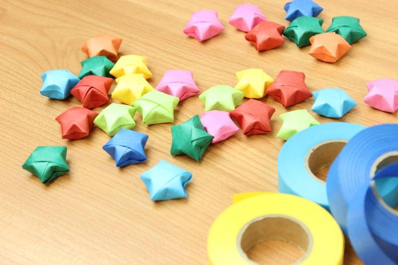 紙テープ-星-1