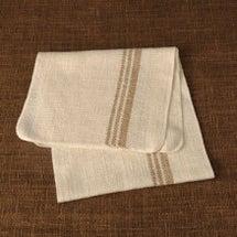 布良のタオルを使って…