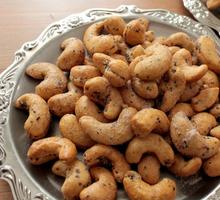 黒胡椒カシューナッツのピート燻製