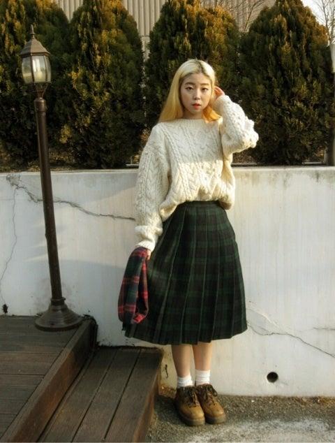 レトロ系韓国ファッション|みっきーぶろぐ ~みっきーは2015/3から韓国留学~