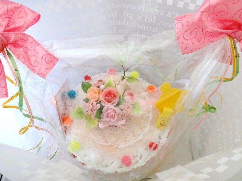 おむつケーキ ピンク