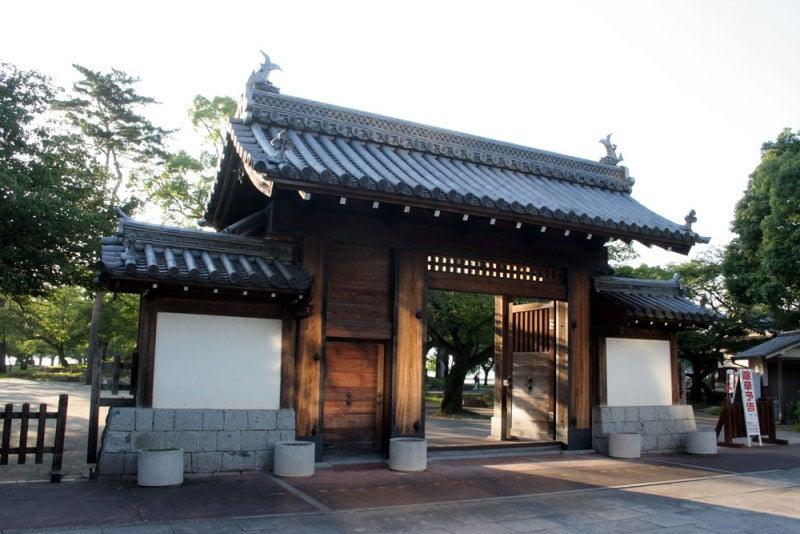 膳所城/②模擬城門