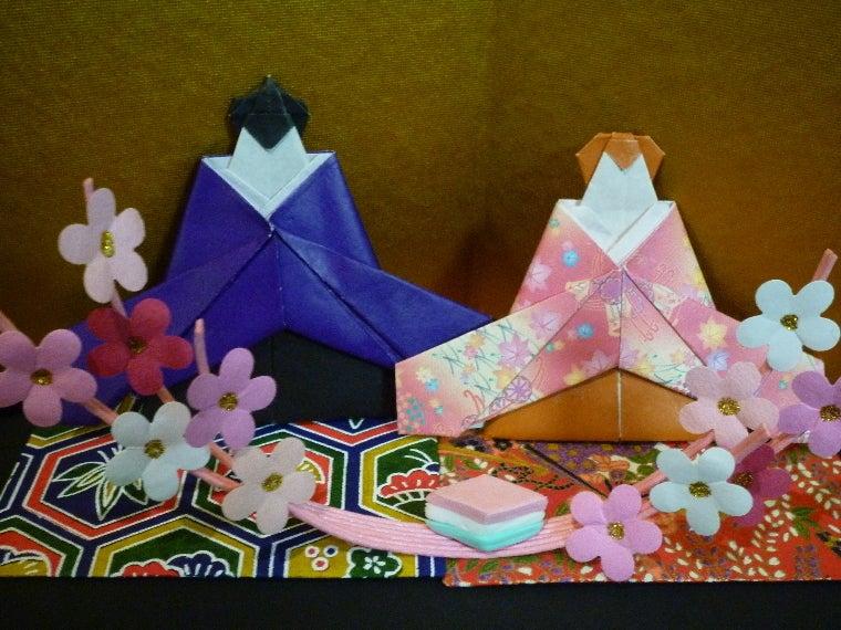 ハート 折り紙:折り紙 ひな人形 折り方-divulgando.net