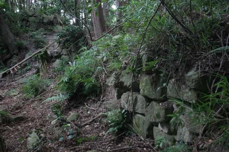 観音寺城/09本丸の石垣2
