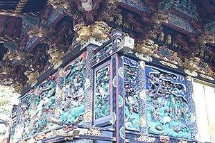 国宝に指定された妻沼聖天山の美しい彫刻