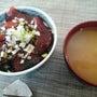 マグロの漬け丼(平成…