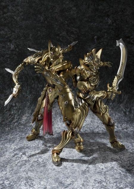 金色に輝くゼンとガイが魔戒可動に登場!