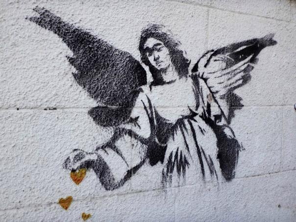 芸術テロリスト、バンクシーの壁画