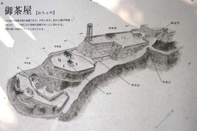 小谷城/06御茶屋~黒金門
