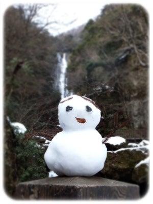 神庭の雪だるま