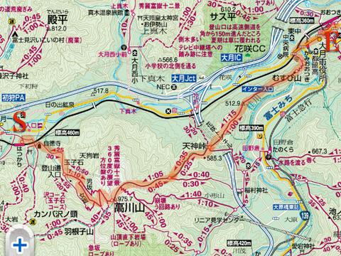 JR中央本線の初狩駅(大月の隣駅 ...