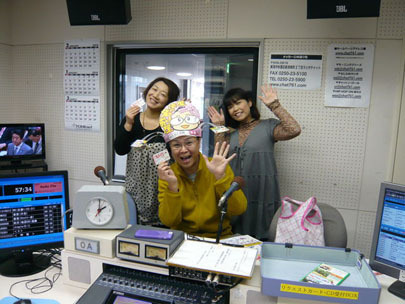 ラジオパーソナリティさんと新潟の魔法の名刺屋