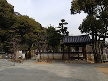 須磨寺 右手