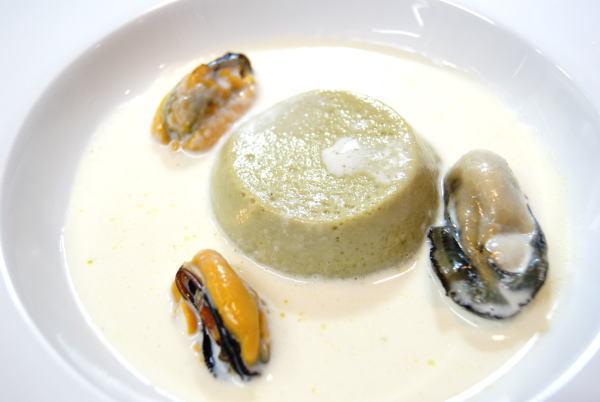 牡蠣のフラン