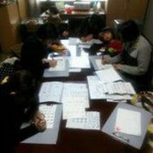 10月の筆ペン教室の…