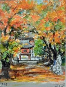 大應寺山門絵画