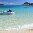 沖縄でホテルとビーチ…