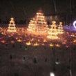 米沢雪燈籠祭始まる