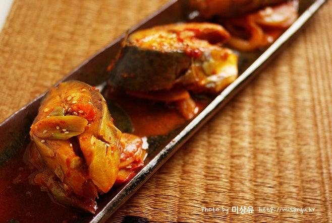 韓国料理 レシピ サバの煮付け
