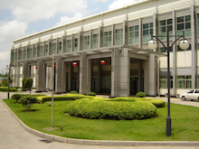 復旦大学 体育館