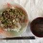 【料理】本日の昼食