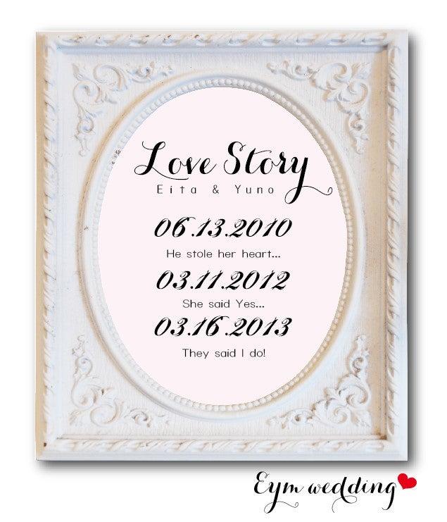 【DIY】LOVE STORYのススメ|She Said Yes! 〜海外ウェディング雑貨店EYM(エイム)〜