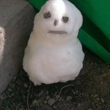 雪だるまo(^o^)…