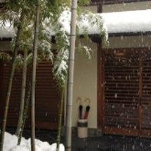 大雪の山梨石和旅行5…