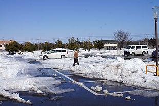 駐車場は整備されておりました