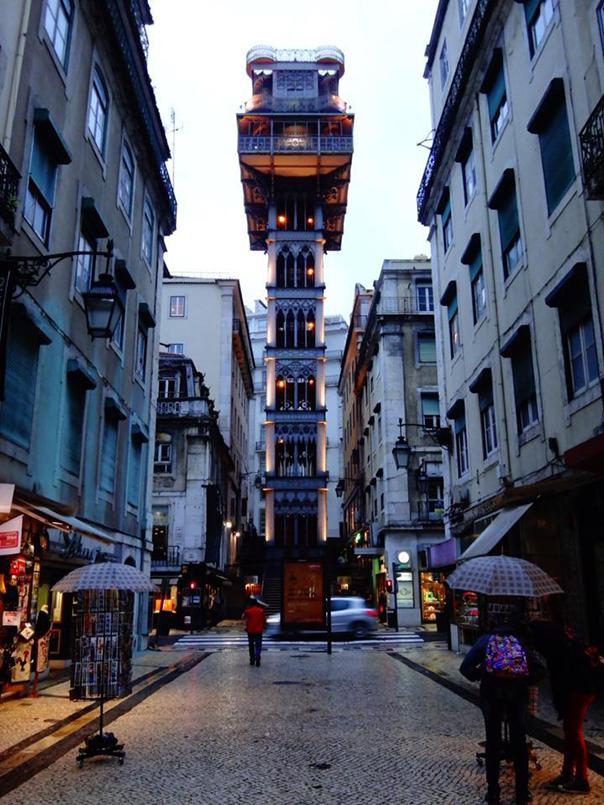 リスボンの街並