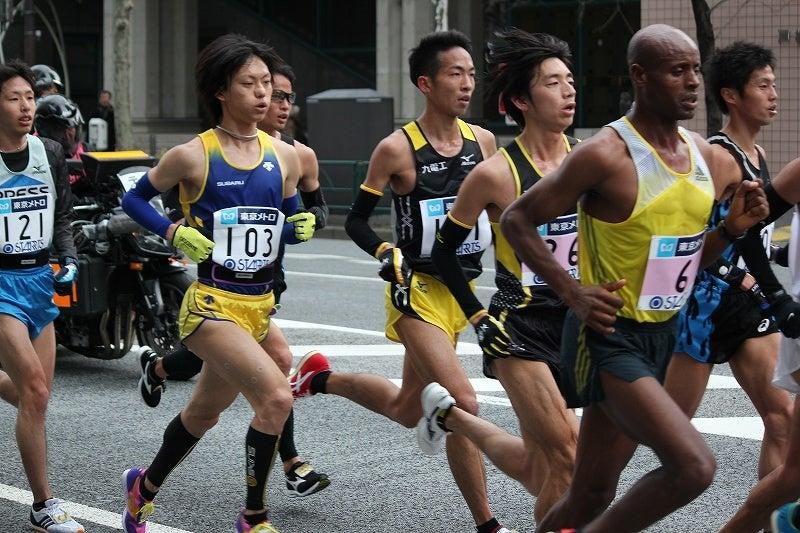 東京マラソン 2014 松村康平選手   特選街情報 NX-Station Blog