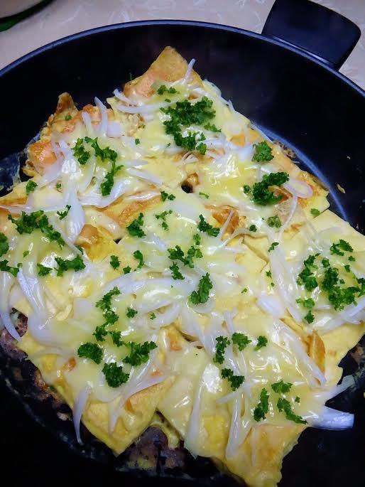 高野豆腐のチーズフレンチトースト