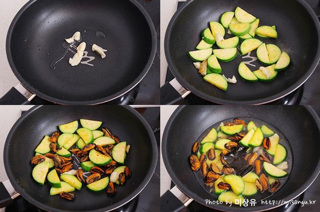 韓国料理 レシピ カボチャ ムール貝