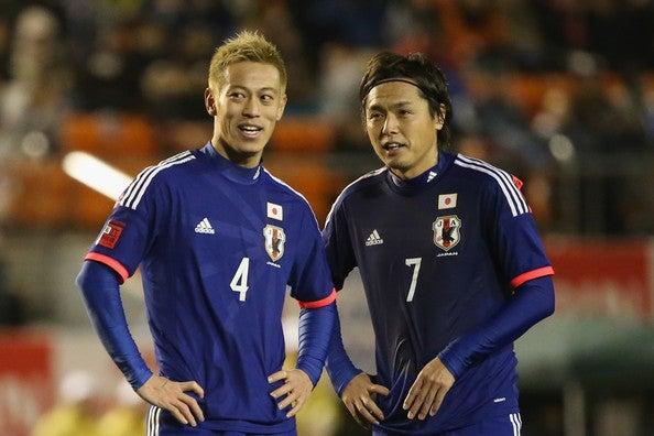 本田圭佑 遠藤保仁 サッカー日本代表 ニュージーランド戦 ワールドカップ