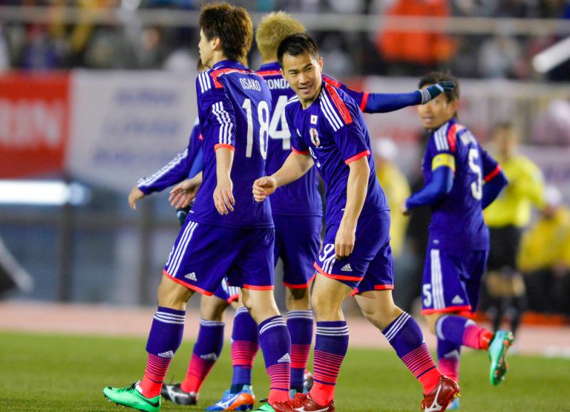 岡崎慎司 サッカー日本代表 ニュージーランド戦 ワールドカップ