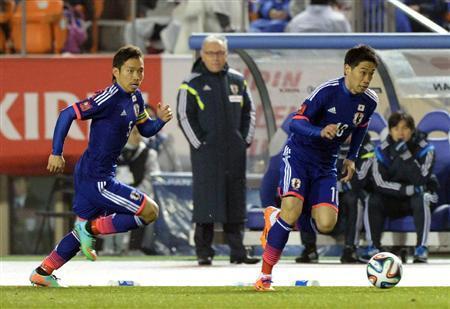長友佑都 香川真司 サッカー日本代表 ニュージーランド戦 ワールドカップ