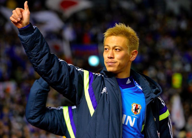 本田圭佑 サッカー 日本代表 出発 ニュージーランド戦