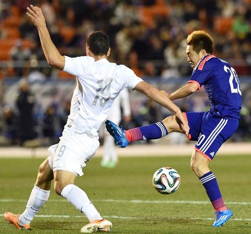 齋藤学 サッカー日本代表 ニュージーランド戦 ワールドカップ