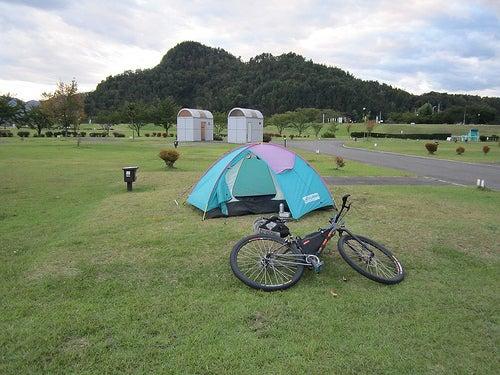 自転車キャンプ ...