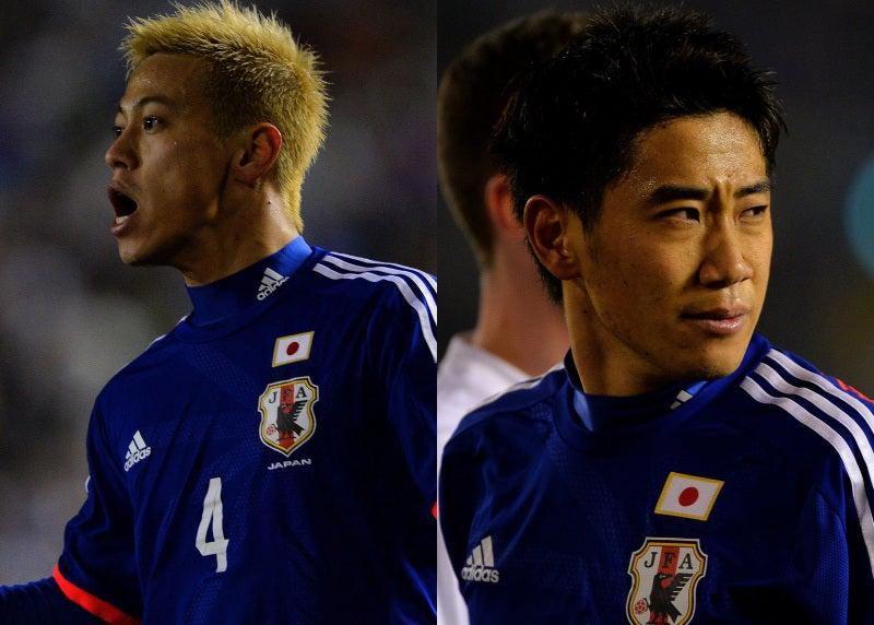 香川真司 本田圭佑 サッカー 日本代表 出発 ニュージーランド戦