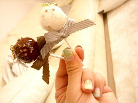 チョコレートロリポップ