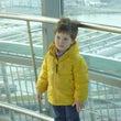 ドナウ川と少年