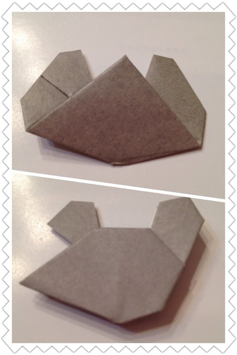 ねずみ くん の チョッキ 折り紙