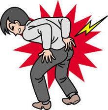ギックリ腰、腰痛、腰の痛み