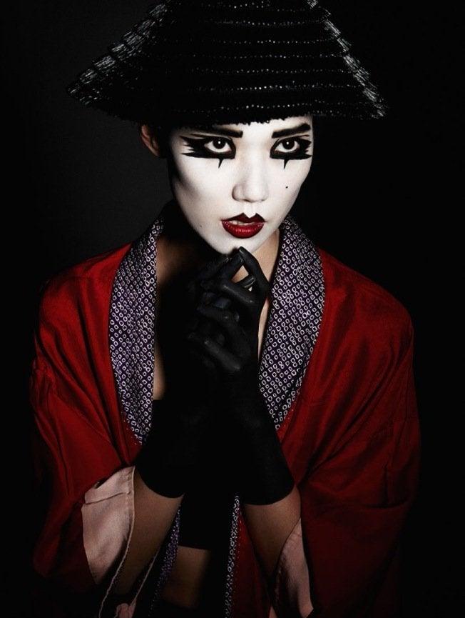 モデルTAO (<b>岡本多緒</b>)がびっくりな白目に!?★ANEW Magazine <b>...</b>